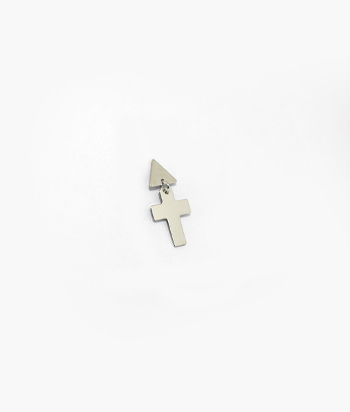 Earring Cross | Rossella Catapano Jewelery Designer
