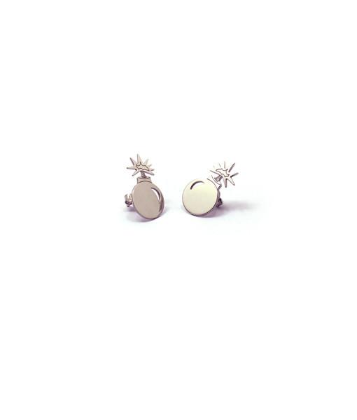 Earring Danger Bomb | Rossella Catapano Jewelery Designer