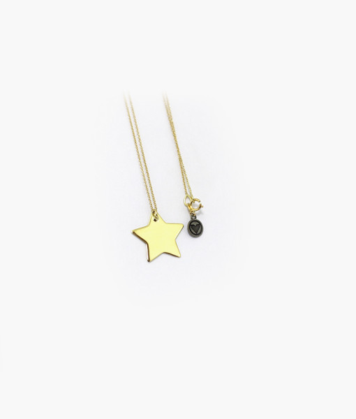 Necklace With Star | Rossella Catapano Jewelery Designer