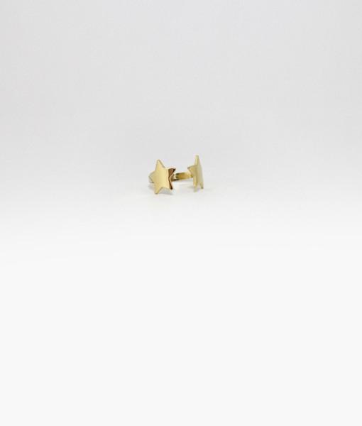 Ring Band Double Stars | Rossella Catapano Jewelery Designer