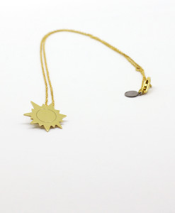 Necklace Funny Sun | Rossella Catapano Jewelery Designer