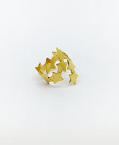 Ring Pure Stars Contrarie | Rossella Catapano Jewelery Designer