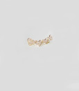 Ear cuff pure hearts br gold 2