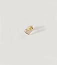 Earring pure heart br gold