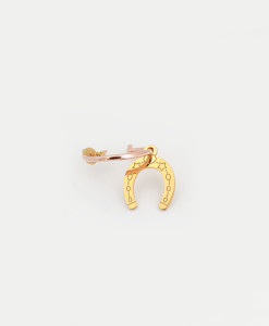 Hoop Earring Horseshoe