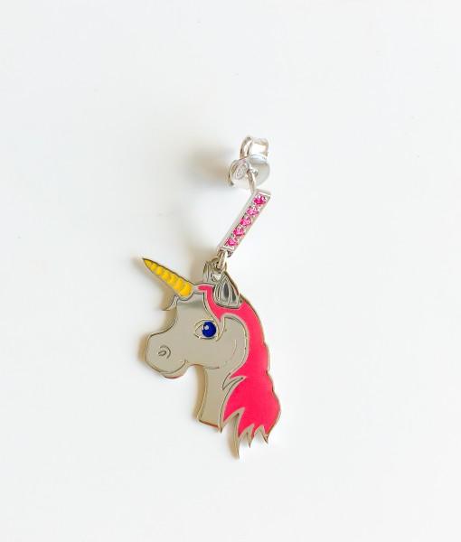 orecchino unicorno