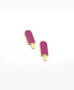 earrings-purple-ice-cream-enamelled-rossella-catapano-jewelery-designer-01