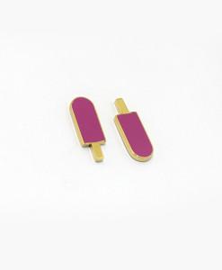 earrings-purple-ice-cream-enamelled-rossella-catapano-jewelery-designer-02