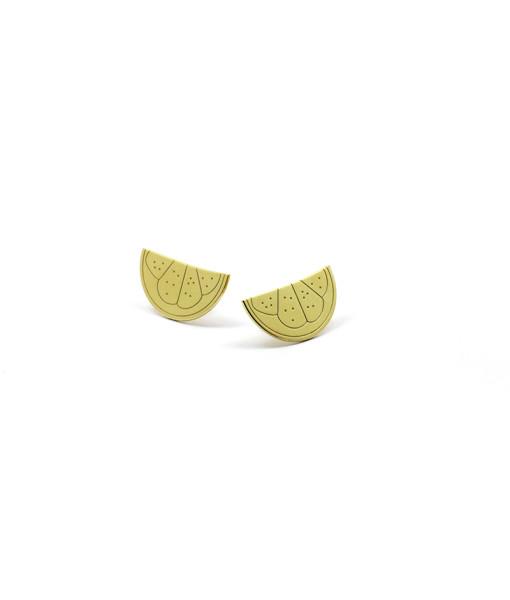 Earring Give Me Lemon| Rossella Catapano Jewelery Designer