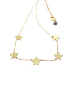 Necklace Sympathetic Stars   Rossella Catapano Jewelery Designer