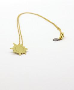 Necklace Funny Sun | Rossella Catapano Jewelery Designer