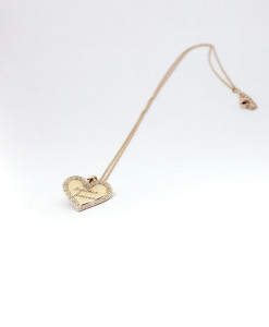 Necklace Heart in Love | Rossella Catapano Jewelery Designer