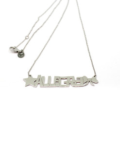 Necklace Yes Name   Rossella Catapano Jewelery Designer