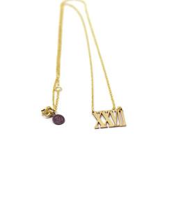 Necklace Roman Numerals | Rossella Catapano Jewelery Designer