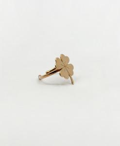 Ring Lucky Four Leaf | Rossella Catapano Jewelery Designer