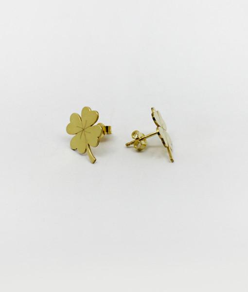 Earring Lucky Four Leaf | Rossella Catapano Jewelery Designer