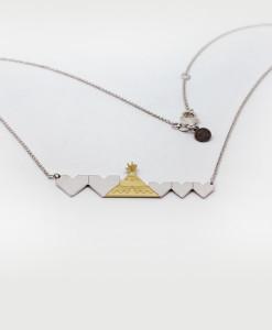 Necklace Due Cuori e Una Capanna Family | Rossella Catapano Jewelery Designer