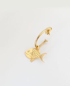 Hoop Earring Alice Fish